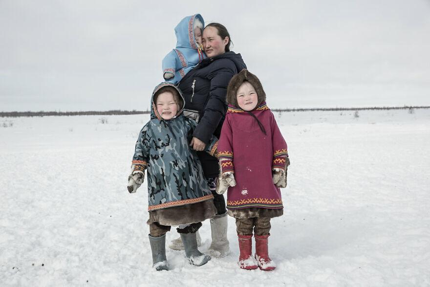 Tundra People By Yulia Nevskaya, First-Place Winner