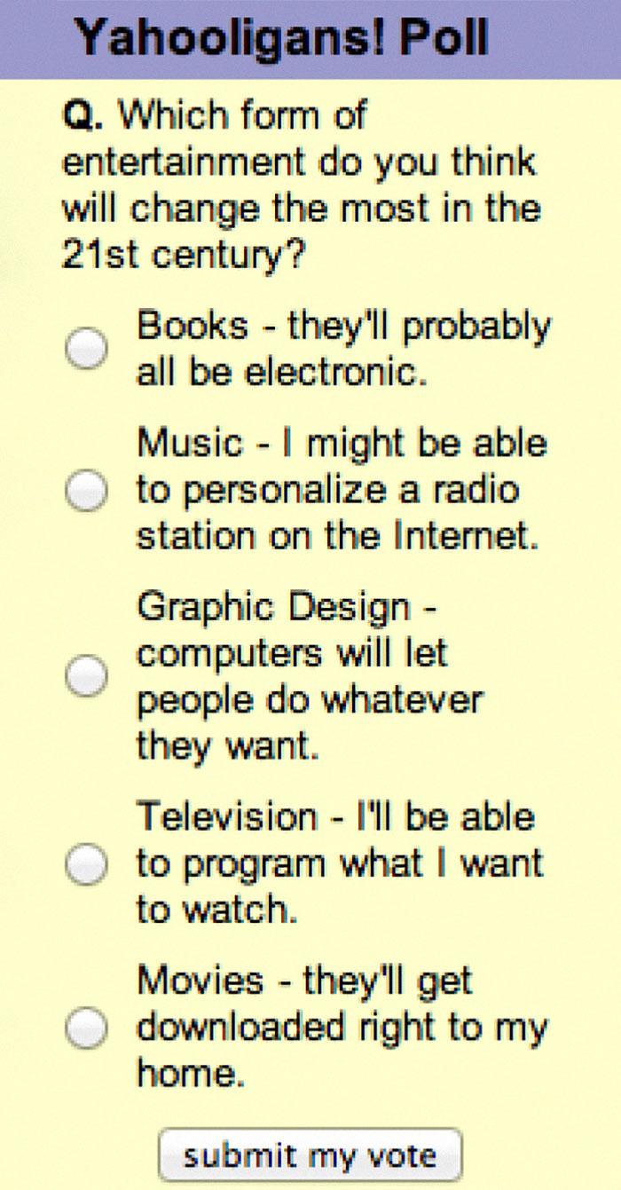 This Yahoo Poll