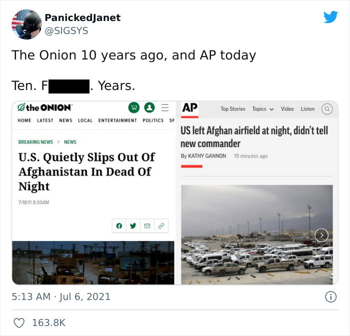 The Onion Predicted It To The Letter