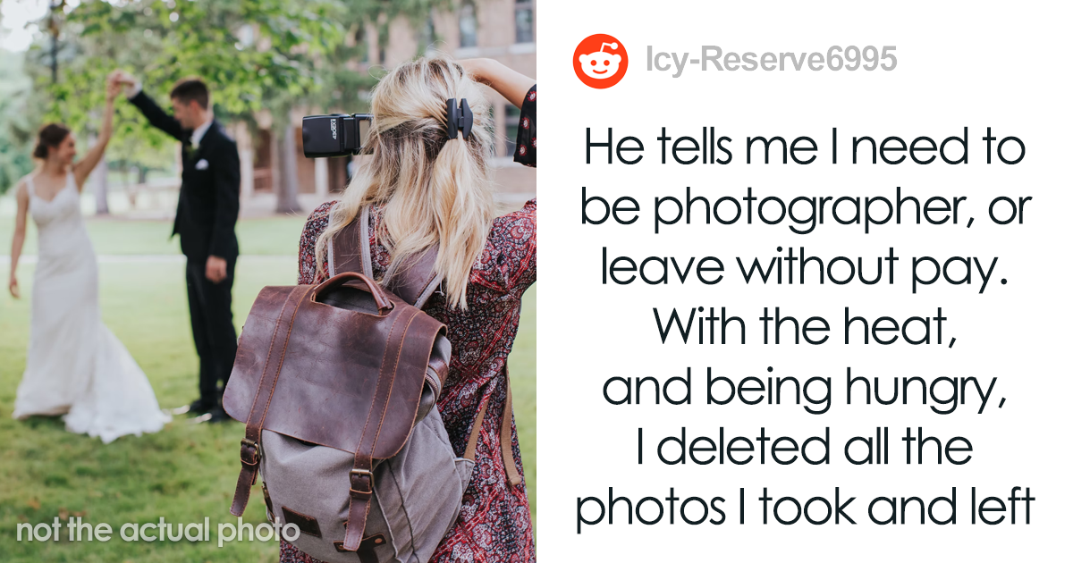 Photographer Explains Why She Deleted Her Friends' Wedding Photos In Front Of Them, Asks If She Acted Like A Jerk