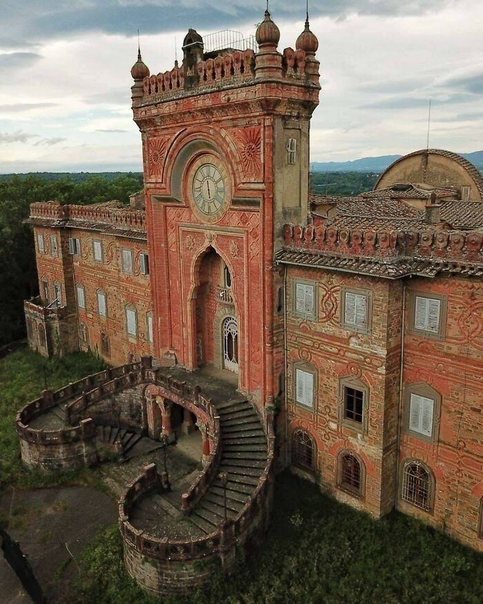 Abandoned Castle In Italy