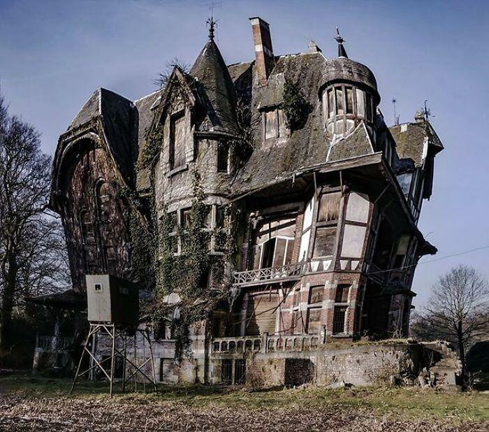 Abandoned Mansion, Belgium