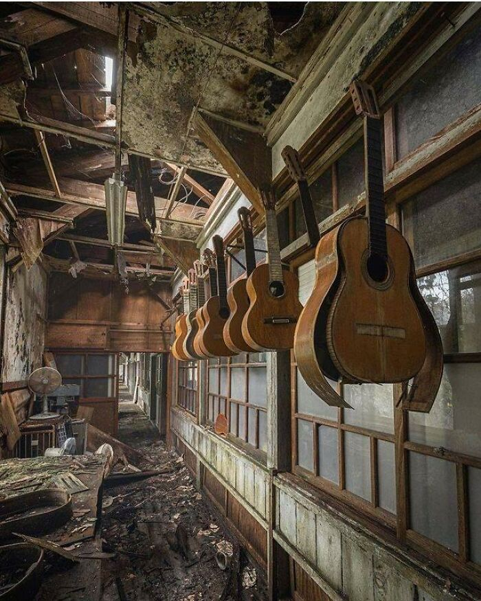 Abandoned Guitar Factory