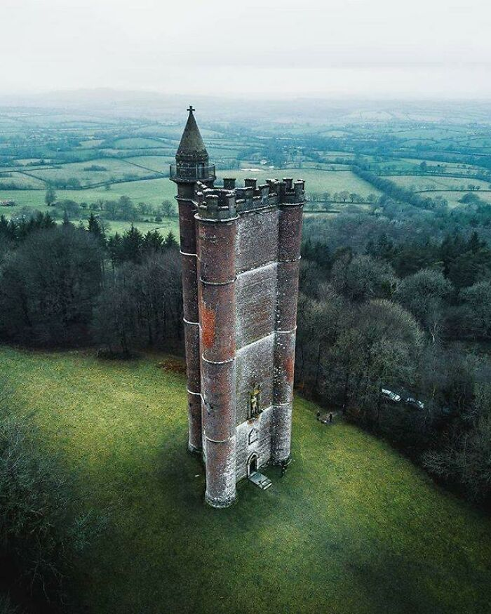 An Old Castle That's Been Left Behind In England
