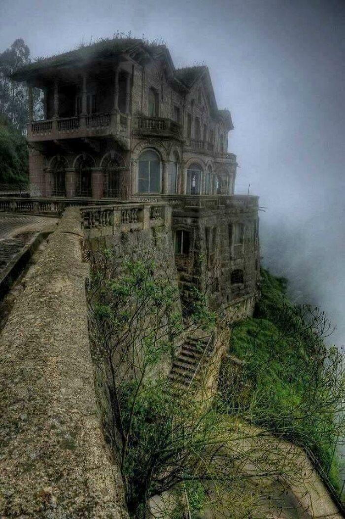 Abandoned Hotel Del Salto, Colombia. Explore Or Ignore?