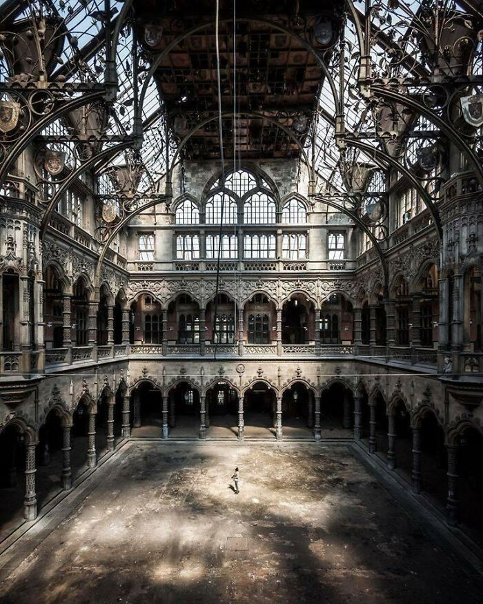 The Magnificence Of An Abandoned Place