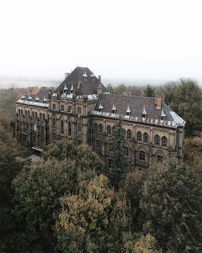 A Sanatorium, In Poland. Explore Or Ignore?