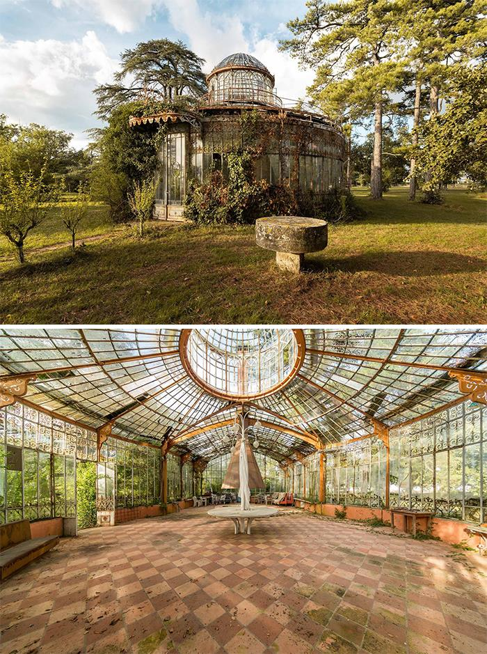 Abandoned 19th Century Greenhouse, France