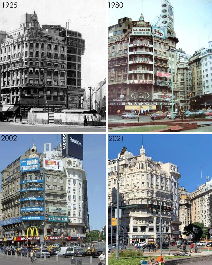 Buenos Aires, Argentina [1925, 1980, 2002, 2021]