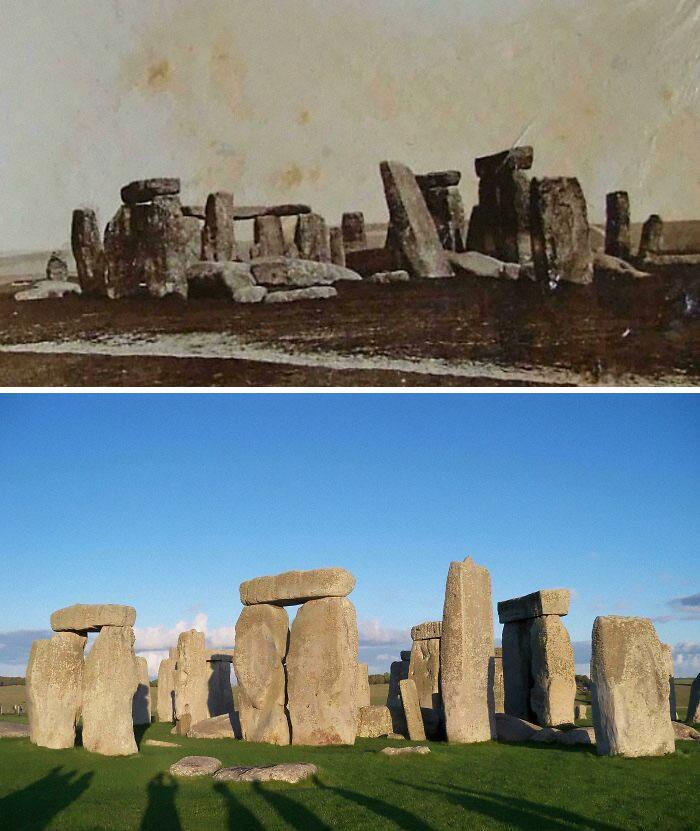 Stonehenge: 1877 And 2019