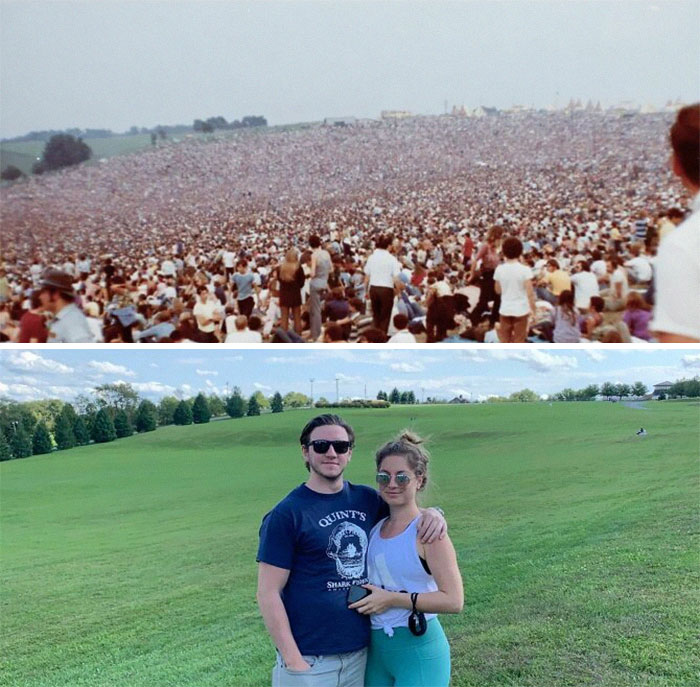 Woodstock Festival Site- 1969 / 2020