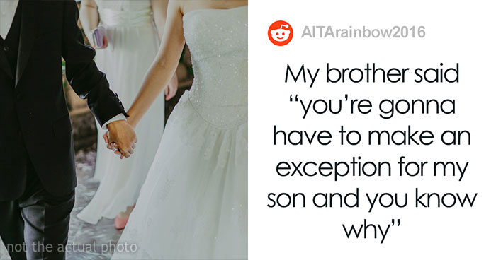 """Bride's Parents Refuse To Attend Her Child-Free Wedding Because She Wouldn't Make An Exception For Her """"Rainbow Baby"""" Nephew"""