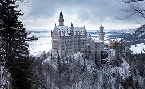 Fotografío los castillos más bonitos del mundo (35 fotos)