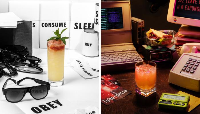 We Created And Photographed Small Movie Sets Around Themed Cocktails (9 Pics)