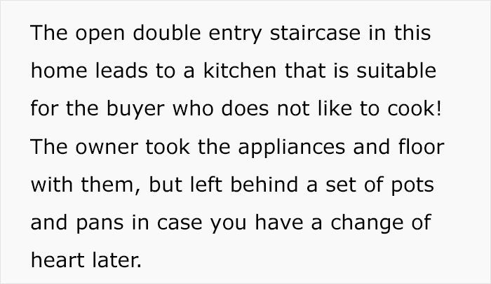 People Online Are Going To Pieces Reading This Sarcastically Honest Listing Of A 2-Story House In Iowa