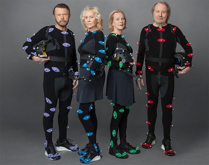 ABBA se reúnen tras 40 años y han creado versiones CGI de si mismos en su mejor momento para actuar en concierto