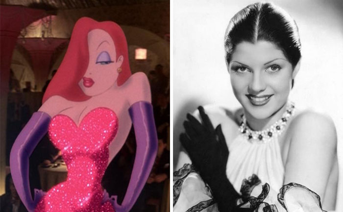 Jessica Rabbit In Who Framed Roger Rabbit Was Mostly Based On Rita Hayworth