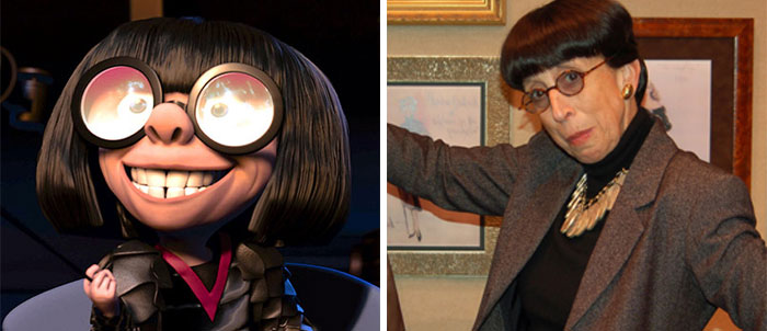 Edna Mode In The Incredibles Was Most Likely Based On Edith Head