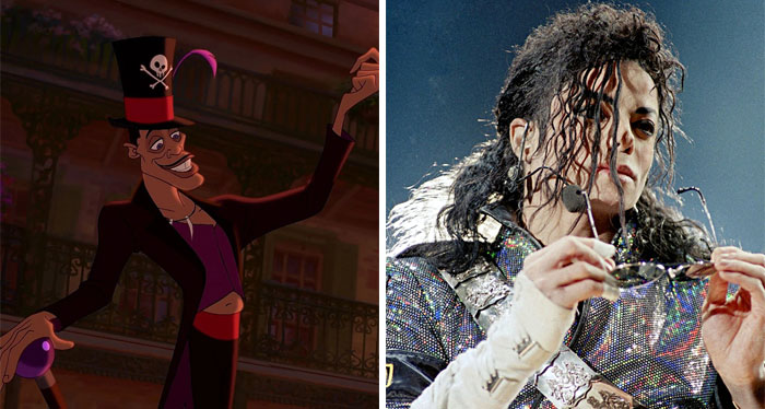 Dr. Facilier In The Princess And The Frog Was Mainly Based On Michael Jackson