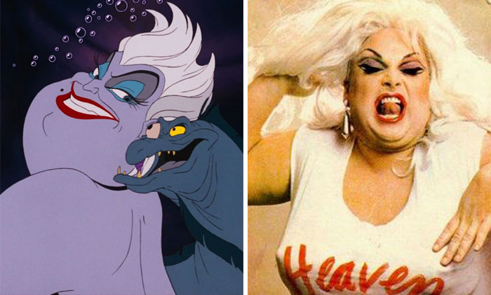 Ursula In The Little Mermaid Was Based On Drag Queen Divine