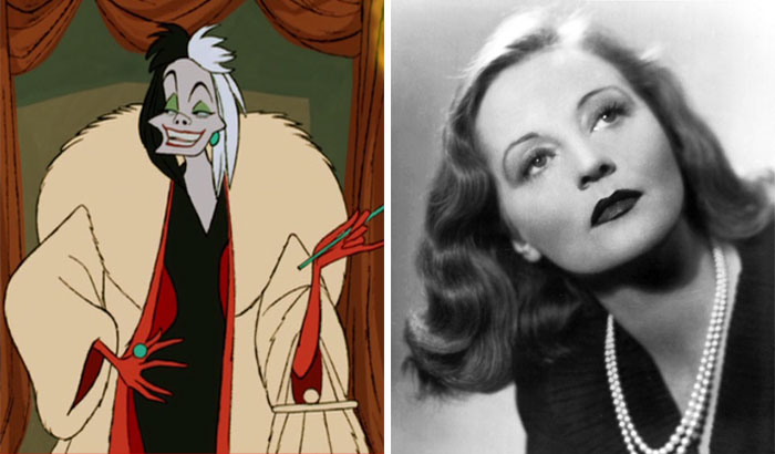 Cruella De Vil In One Hundred And One Dalmatians Was Based On Tallulah Bankhead