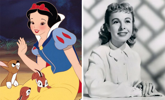 Snow White In Snow White And The Seven Dwarfs Was Based On Marge Champion