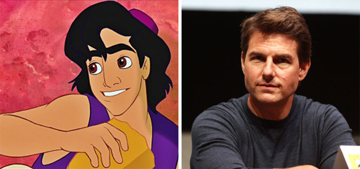 Aladdin In The Eponymous Movie Was Based On Tom Cruise