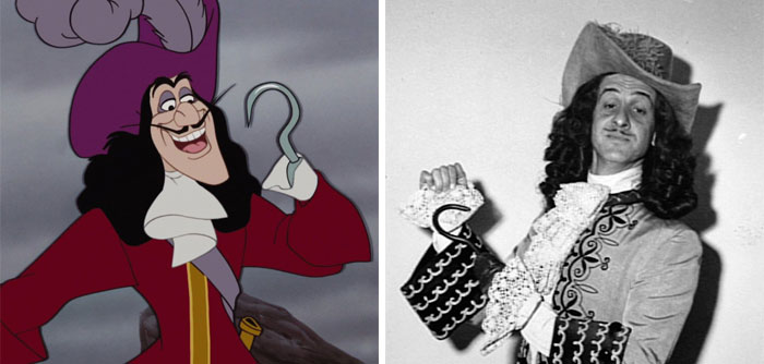Captain Hook In Peter Pan Was Based On Hans Conried