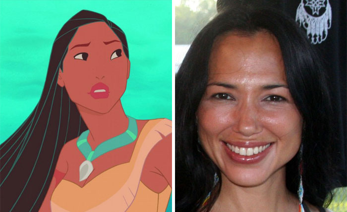 Pocahontas In The Homonymous Movie Was Based On Irene Bedard