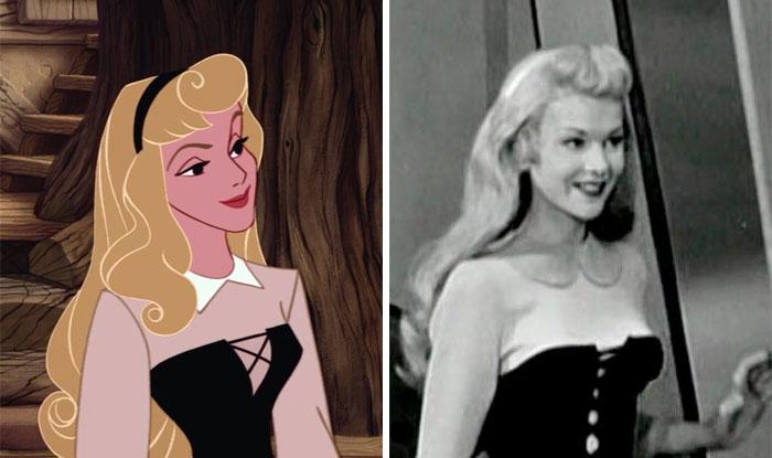 Princess Aurora In The Sleeping Beauty Was Based On Helene Stanley