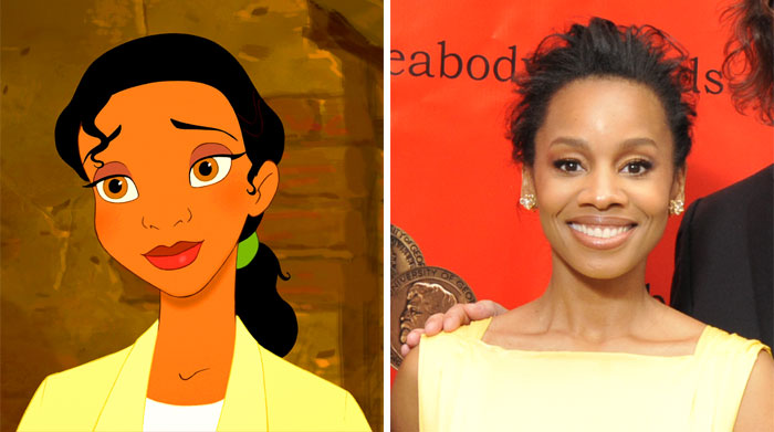 Tiana In The Princess And The Frog Was Based On Anika Noni Rose