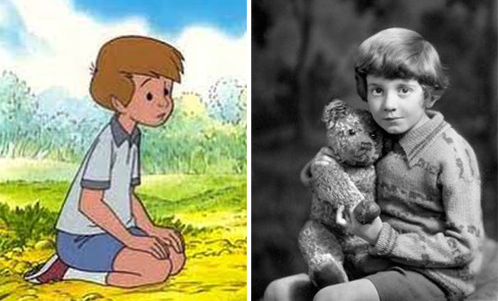 Christopher Robin In Winnie The Pooh Was Based On Christopher Robin Milne