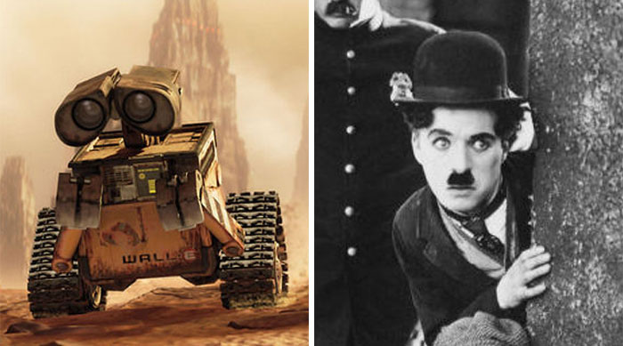 Wall-E In The Eponymous Movie Was Based On Charlie Chaplin