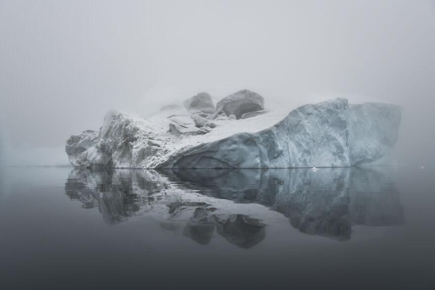 Arctic Icescape By Dede Pickering