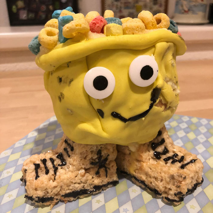A Cereal Bowl Cake