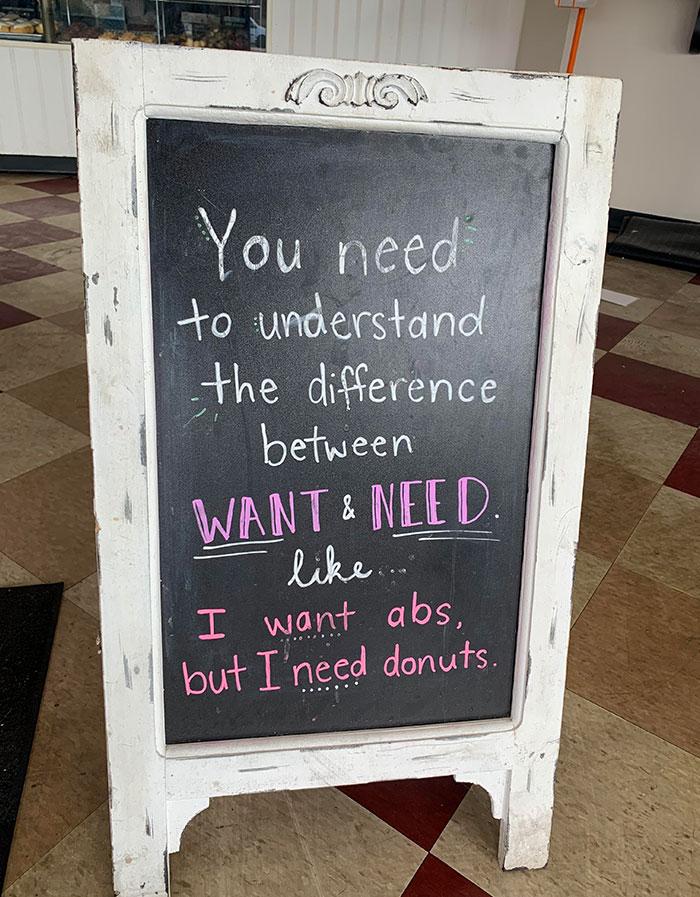 Local Doughnut Shop Has Some Jokes