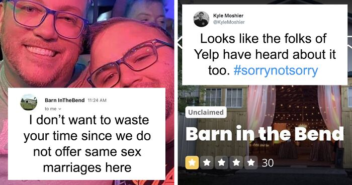 Gay Couple Exposes Wedding Venue That Rejected Them Because Of Their Sexuality