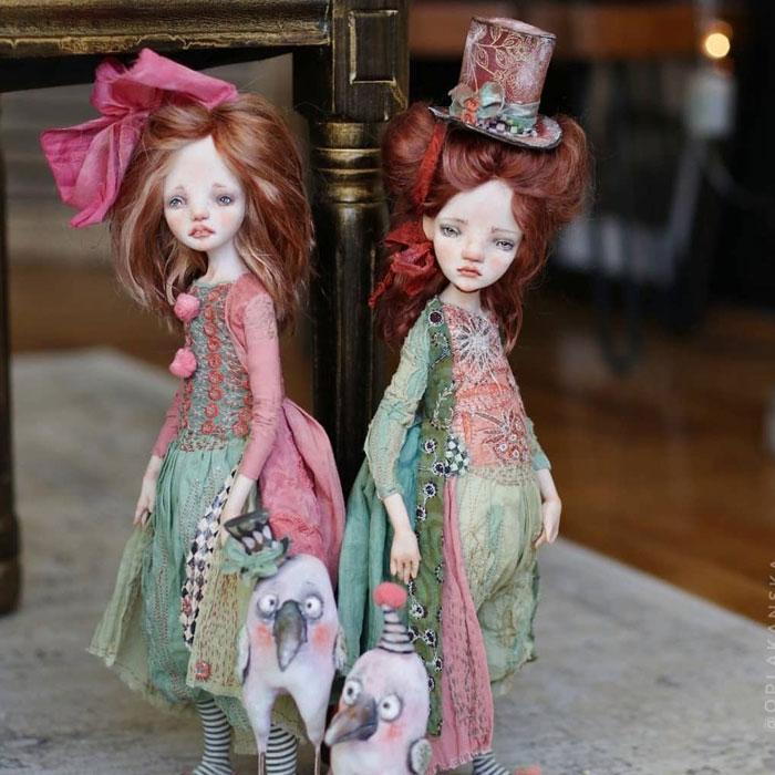 Hace 16 años que mi hermana crea muñecas de fantasía y estas son sus 30 mejores creaciones