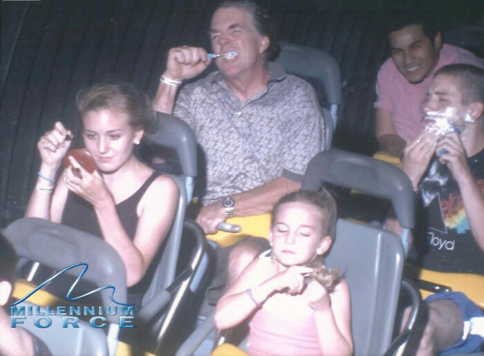 My Go At A Rollercoaster Pose