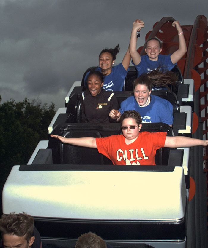 I Friggin T-Posed On A Rollercoaster