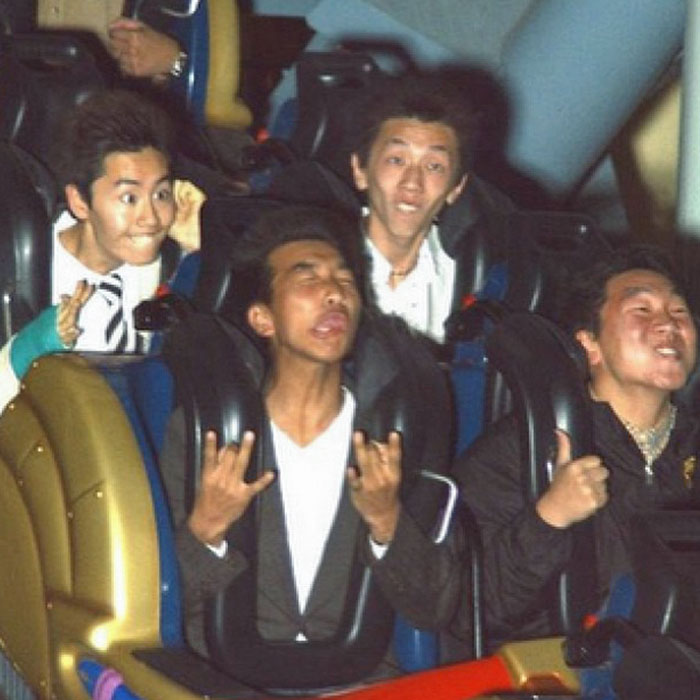 The Faces People Make On Roller Coasters