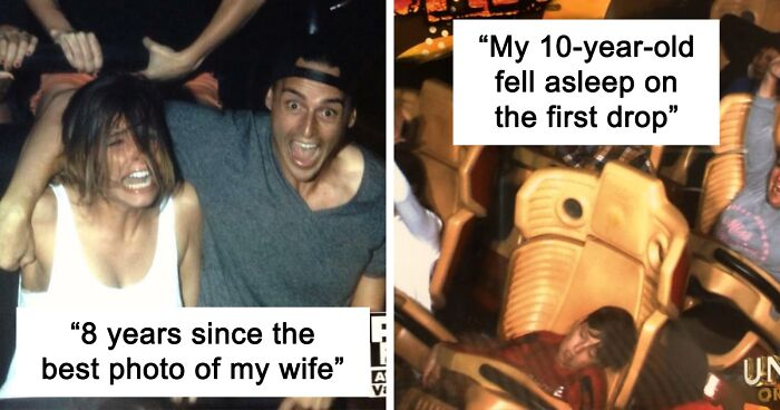 78 Hilarious Rollercoaster Pics That Might Take You On A Wild Ride (New Pics)