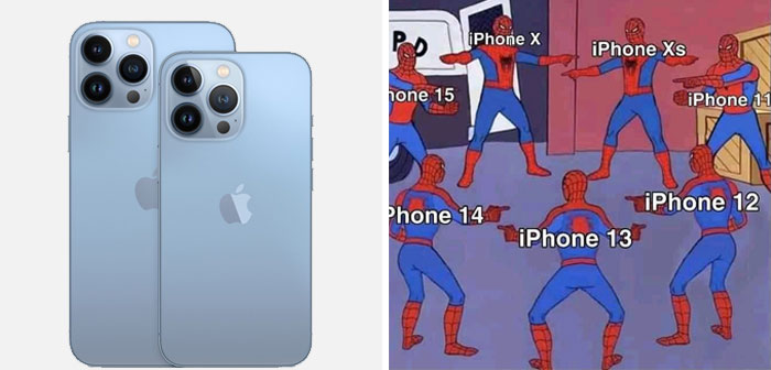 La gente en internet critica el nuevo iPhone 13, y aquí tienes las 18 publicaciones más divertidas al respecto