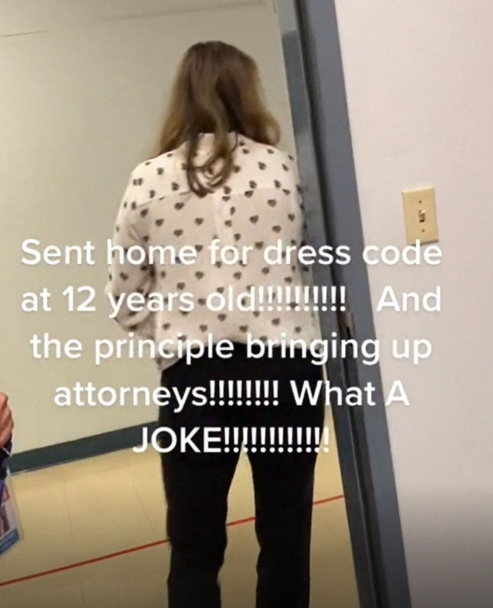 """""""So You're Taking Her Education Away Over Her Dress Code?"""": Mother Sticks Up For Her Daughter, Sparks A Debate On TikTok"""