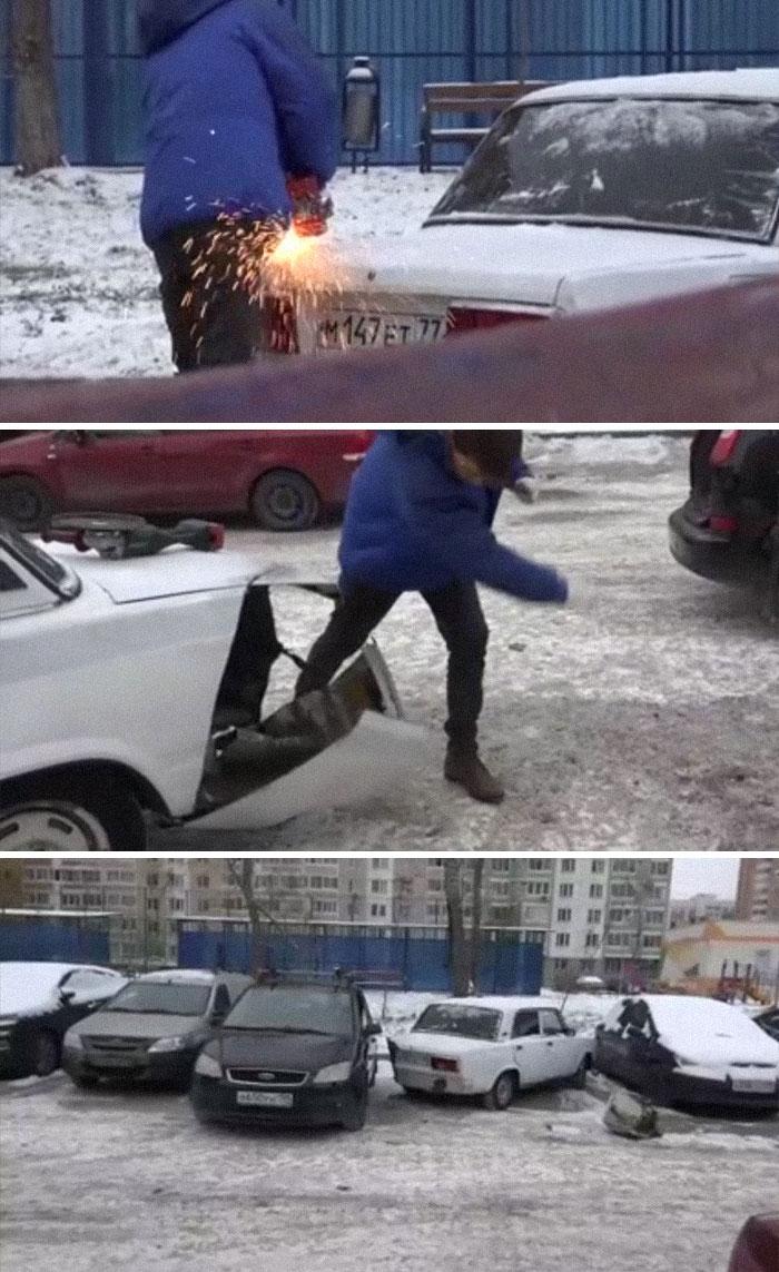 Dealing With A Parking Spot Dispute