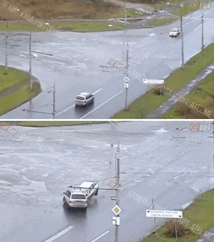 During The Rush Hour, Russian Streets Are Especially Prone To Accidents