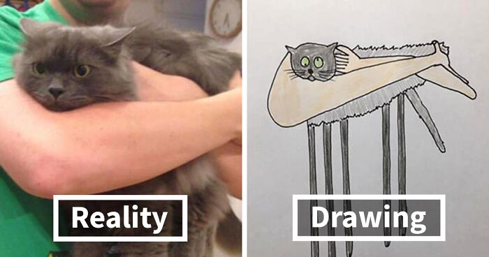 """This Artist Drew These 30 Animals So """"Badly"""", It Might Be A New Style"""