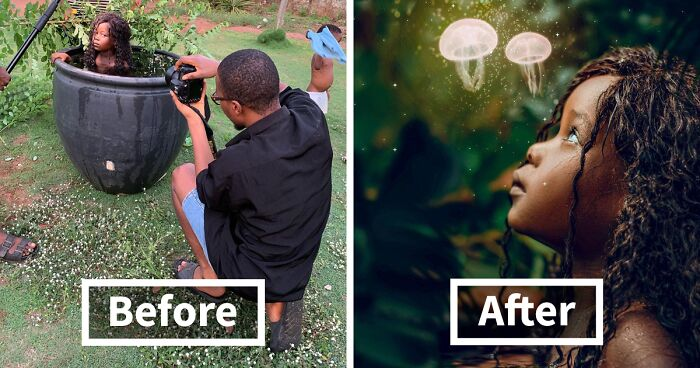 70 Location Vs. Result Pics By Ibor Edosa Victor Expose The Behind-The-Scenes Of Instagram-Worthy Photos
