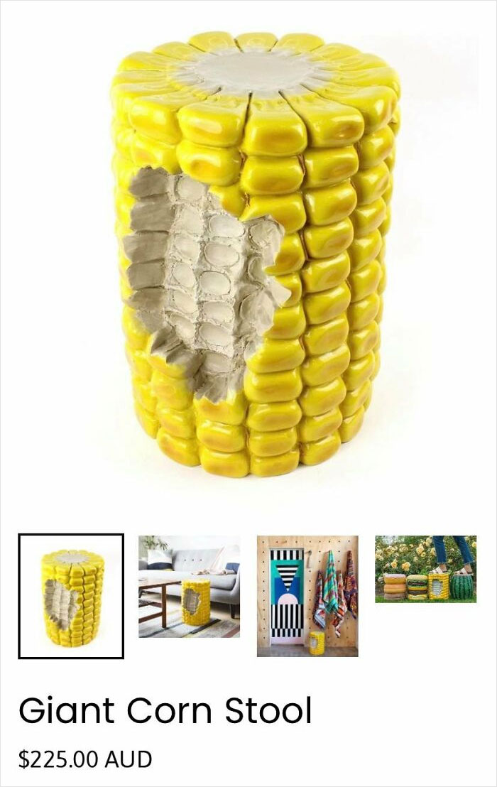 """""""Giant Corn Stool"""" - There's A Joke In There Somewhere"""