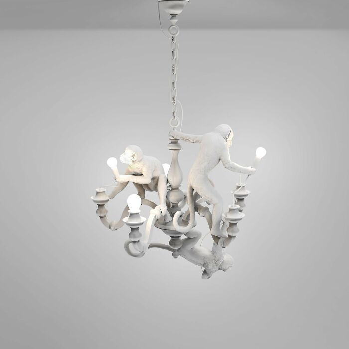 Seletti: Lámpara de monos por Marcantonio